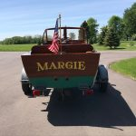 1930's RumRunner Wood Boat - Anchors Aweigh - Used classic wood boats for sale in Minnesota (3)