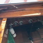 1930's RumRunner Wood Boat - Anchors Aweigh - Used classic wood boats for sale in Minnesota (6)