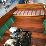 1930's RumRunner Wood Boat - Anchors Aweigh - Used classic wood boats for sale in Minnesota (7)