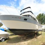 1980 Silverston Sedan 31 - Anchors Aweigh Boat Sales - Used boats for sale in Minnesota (6)