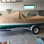 1930's RumRunner Wood Boat - Anchors Aweigh - Used classic wood boats for sale in Minnesota (11)