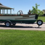 1930's RumRunner Wood Boat - Anchors Aweigh - Used classic wood boats for sale in Minnesota (2)