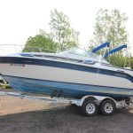 1989 Carver 2357 Montego - Anchors Aweigh Boat Sales - Used Boats For Sale In Minnesota - Cuddy Cabin - Cabin Cruiser (1)