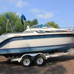 1989 Carver 2357 Montego - Anchors Aweigh Boat Sales - Used Boats For Sale In Minnesota - Cuddy Cabin - Cabin Cruiser (2)
