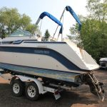1989 Carver 2357 Montego - Anchors Aweigh Boat Sales - Used Boats For Sale In Minnesota - Cuddy Cabin - Cabin Cruiser (3)