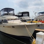 1990 Tollycraft 34 Sport Sedan - Anchors Aweigh Boat Sales - Used Boats For Sale In Minnesota - Wisconsin (1)